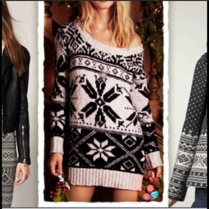American Eagle Outfitters Fair Isle Sweater S